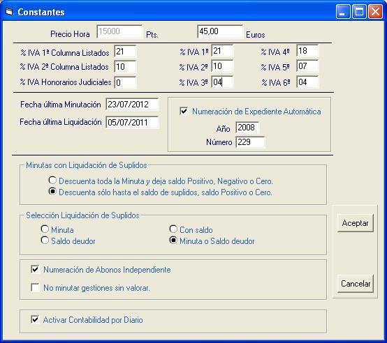 Configuración de Gesabo. Clic para ampliar.