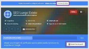Google my Business_Verificando Google+